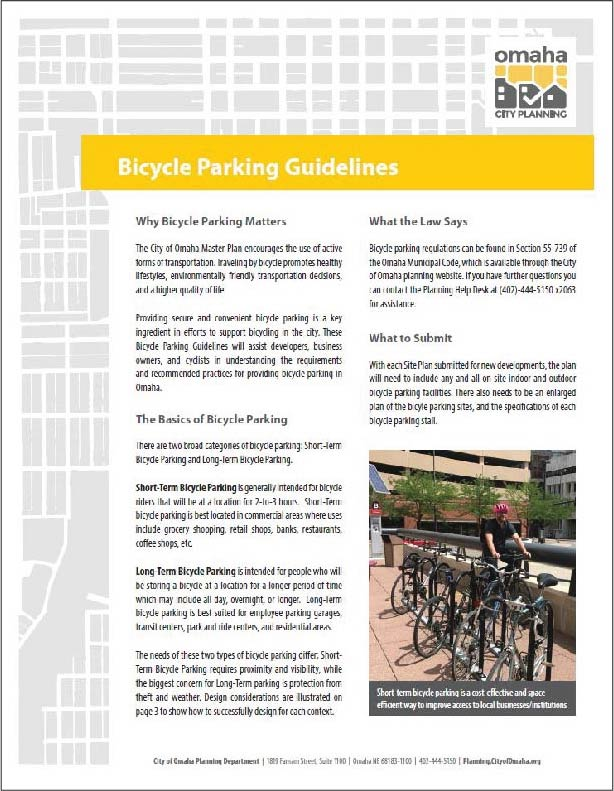 Bike Parking Guidelines Cover Screenshot2