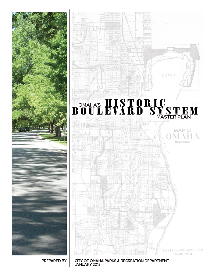 Historic Boulevard Master Plan Cover