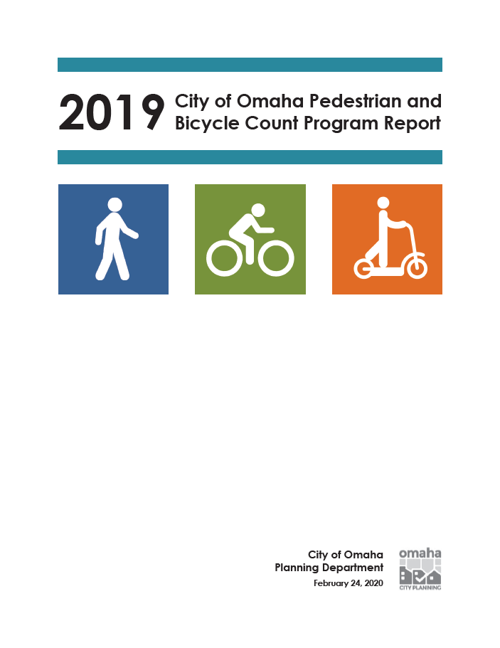 2019 bike ped count report cover